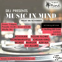 Roxxxan Joins Music In Mind's Charity Night Line Up