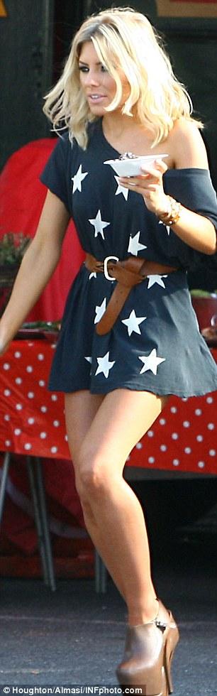 The Saturdays Fashion: Get Mollie King's Super High Boots