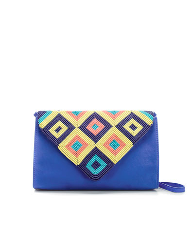 Add A Bright Clutch To Your Evening Wear