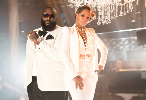 All White Everything: Mary J & Rick Ross Feature In 'Why'