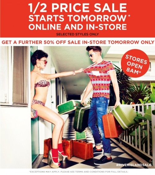 River Island Summer Sale Starts Tomorrow!