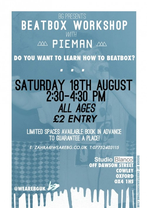 Learn How To Beatbox This Summer With BG Records