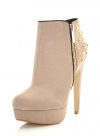 Fashion Favourite: Nude Studded Ankle Boots