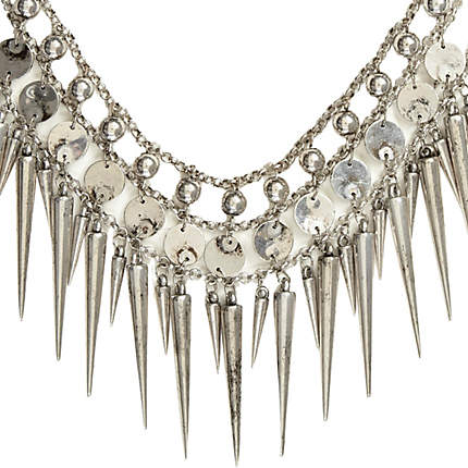 Style Statement: Spike Necklaces