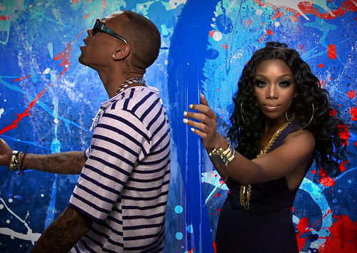 **NEW VIDEO** Brandy Featuring Chris Brown In 'Put It Down'