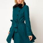 Fashion Pick Of The Day: ASOS Fur Trim Flare Coat