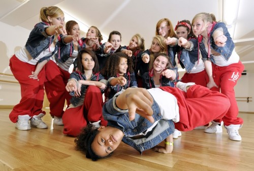 Step 2 Dance School Performs At Oxford Christmas Lights