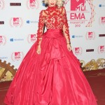 The EMA's 2012: Rita Ora Wins With Her Red Lace Number