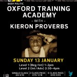 Kieron Proverbs Is To Kick Off Body Politic's New Training Academy