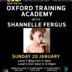 Shannelle Fergus Is Next On The Oxford Training Academy Line Up