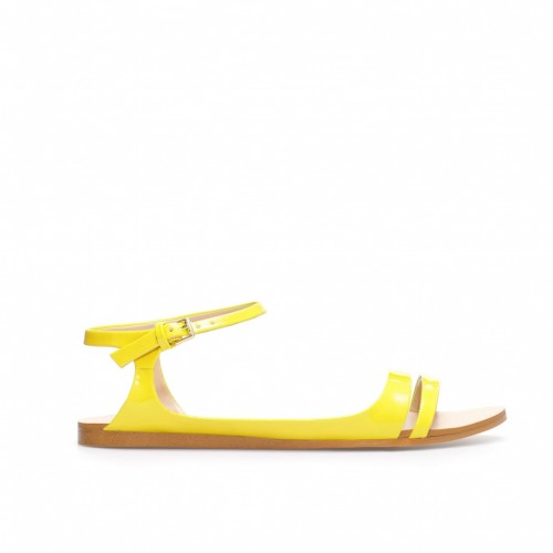 Shine Bright This Summer In Neon Sandals