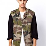 Men's Fashion Corner: Go Vintage With Camouflage & Denim