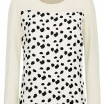 Fashion Pick Of The Day: Print Sheer Blouse