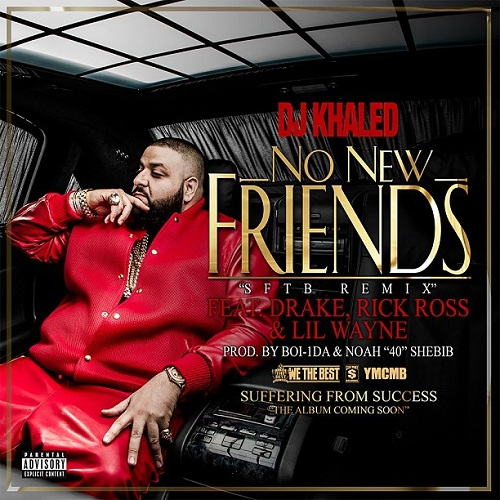 NEW VIDEO: DJ Khaled Takes You Back In Time With 'No New Friends'