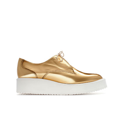 Style Clone: Get Rihanna's Gold Platforms Today