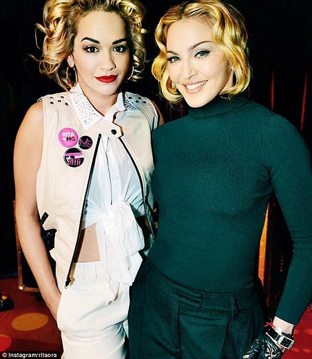 Rita Ora Joins Madonna & Lola As The New Face Of Material Girl