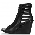 Fashion Pick Of The Day: Lace Up Wedges
