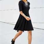Fashion Pick Of The Day: Textured Flippy Dress
