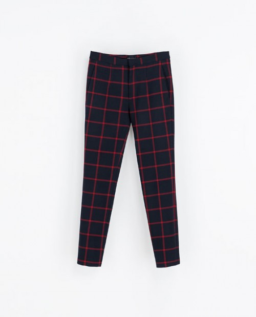 Fashion Pick Of The Day: Checked Trousers