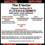 PROFESSIONAL DANCERS: X-Factor Auditions Are Calling Your Name
