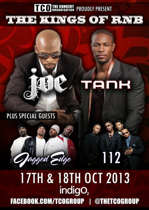 Kings Of RnB Tour Comes To The UK