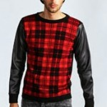 Men's Fashion Corner: Go Crazy For Checked Leather
