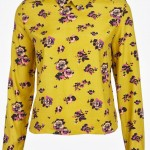 Fashion Pick Of The Day: Long Sleeve Floral Collar Top