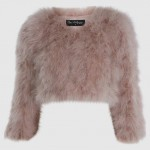 Style Clone: Miley Cyrus In That Faux Fur Bolero