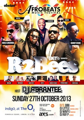 The Afrobeats Music Festival Returns To Indigo2