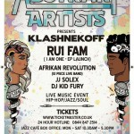 Abstrakt Artists Presents Klashnekoff & More At London's Jazz Cafe