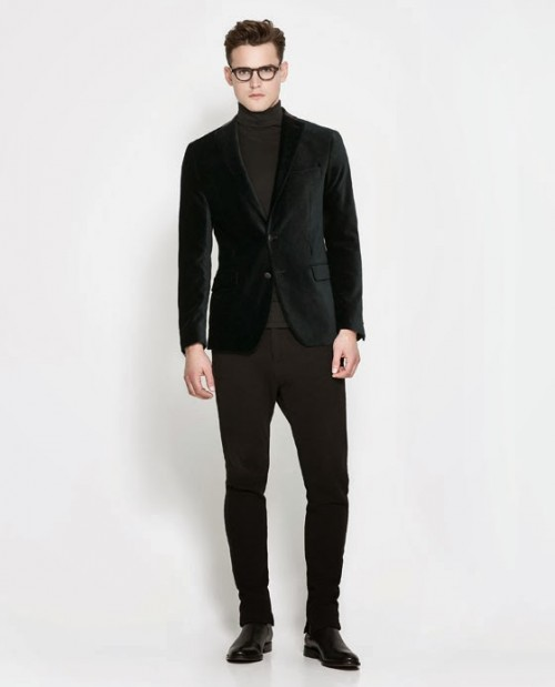 Men's Fashion Corner: The Classic Velvet Blazer