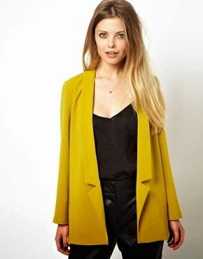 Fashion Pick Of The Day: Plunging Neckline Blazer