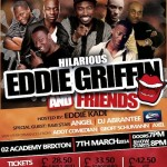 Eddie Griffin Presents 'Hilarious' To The UK!
