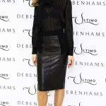 Abbey Clancy Promotes Ultimo's Latest Lingerie Collection