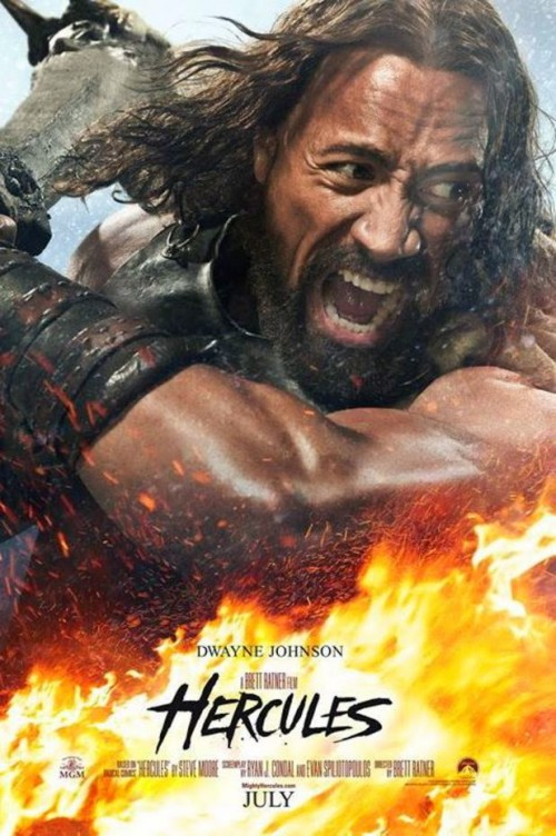 Dwayne 'The Rock' Johnson Returns To The Big Screen As Hercules