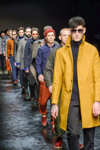 Men's Fashion Corner: London Collections Men SS15