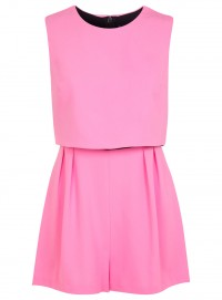 Fashion Pick Of The Day: Pink Overlay Playsuit