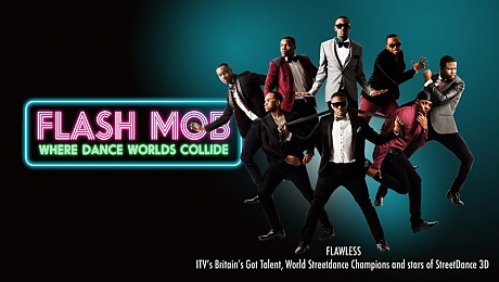 Flash Mob: Watch Famous Dance Worlds Collide On Stage
