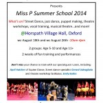 The Miss P Foundation Present Their Annual Summer Workshop