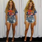 Beyonce Shows Her Support For The New Adidas X Farm Collection
