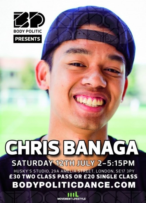 The Company's Chris Banaga Is Here For A One-Off Workshop