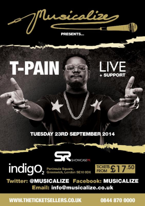 T-Pain's Dance Crew Support Act To Be Revealed