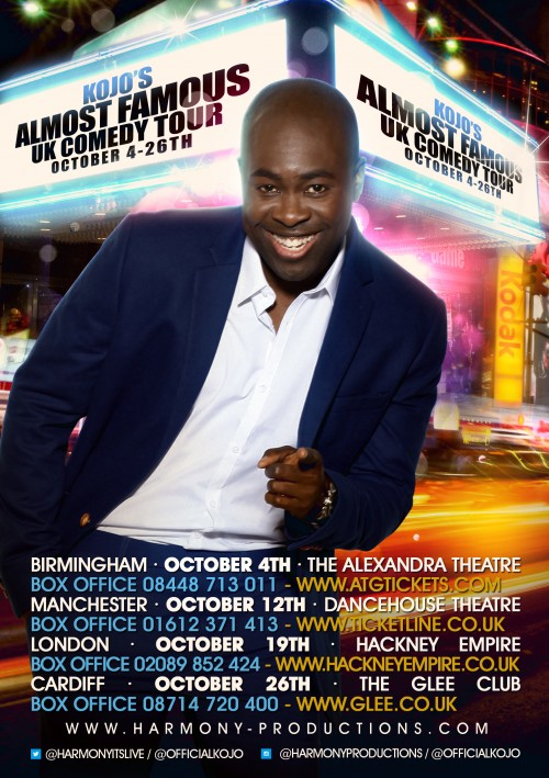 Almost Famous: Kojo Hits The Road With UK Tour