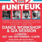 Body Politic Dance Ltd Present #UniteUK