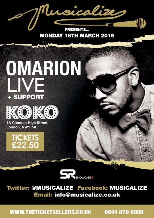 Musicalize Presents: Omarion Live At KOKO
