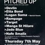 DJ Target & Danny Weed Present Pitched Up