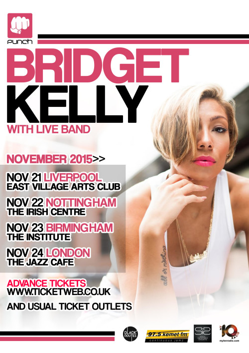 INTERVIEW: Bridget Kelly Embarks On UK Tour
