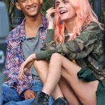 Cara Delevingne & Jaden Smith Hit It Off On Set