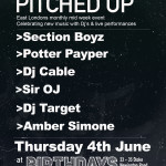 Pitched Up Returns For Its June Takeover