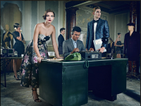 Countdown To Christmas: Ted Baker's Winter Warmers Campaign